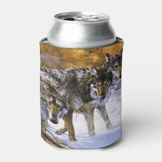 Wolf Pack Can Coolers