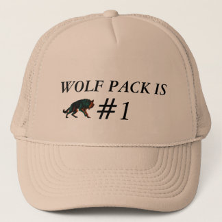 WOLF PACK IS #1 HAT