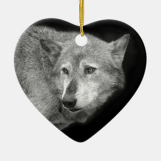 Wolf Pack Leader copy.jpg Christmas Ornament