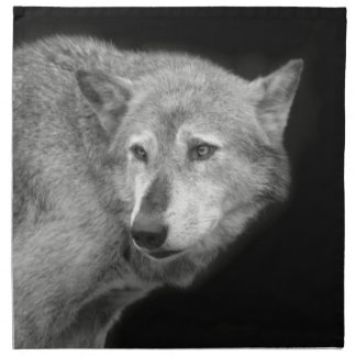 Wolf Pack Leader copy.jpg Napkin