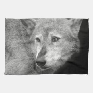 Wolf Pack Leader copy.jpg Tea Towel
