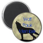 Wolf Pack Member magnet