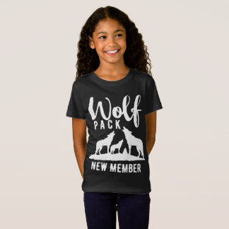 Wolf Pack New Member Wilderness Graphic T-Shirt