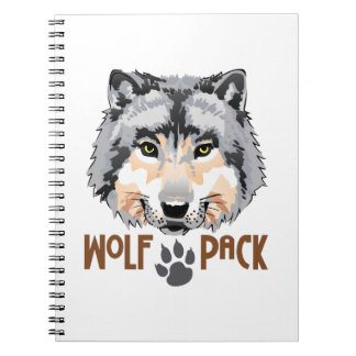 WOLF PACK NOTEBOOKS