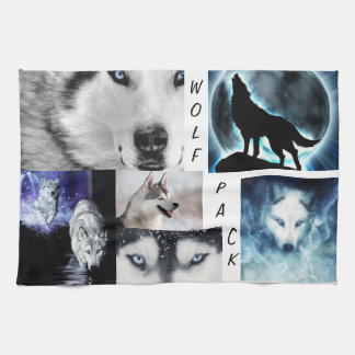 wolf pack towel