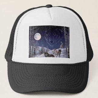Wolf Pack Trucker Hat