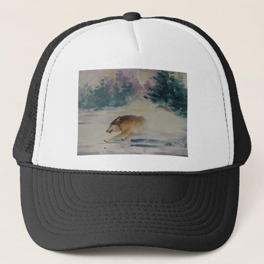 Wolf Pastel Cap