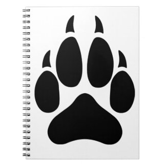 Wolf Paw Notebook