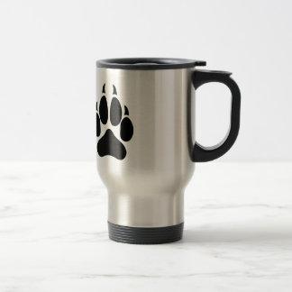 Wolf Paw Travel Mug