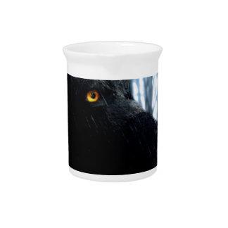 wolf pitcher