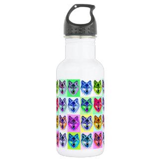 Wolf Pop Art 532 Ml Water Bottle