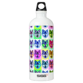Wolf Pop Art SIGG Traveller 1.0L Water Bottle