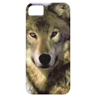 Wolf Portrait Barely There iPhone 5 Case