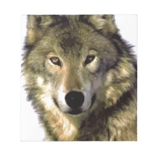 Wolf Portrait Notepad