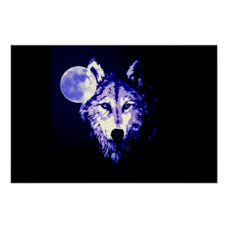Wolf Poster Print - Wolves Posters