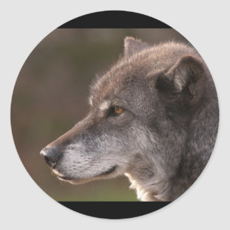 Wolf Profile Stickers