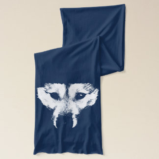 Wolf Pup Scarf Husky Wolf Dog Scarves & Gifts