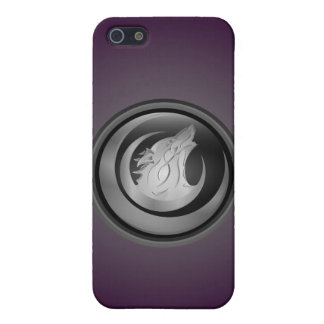 Wolf purple iPhone 5/5S cases