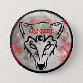 Wolf Queen Button
