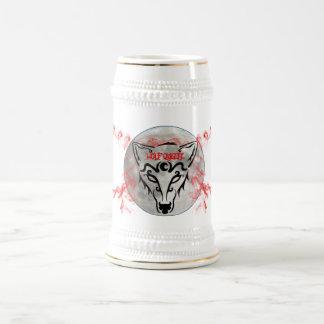 Wolf Queen Stein Beer Steins