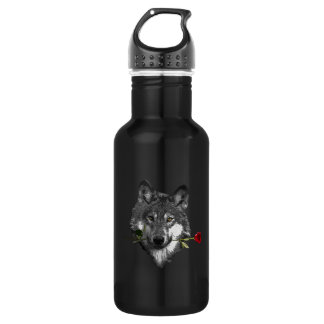 Wolf Rose 532 Ml Water Bottle