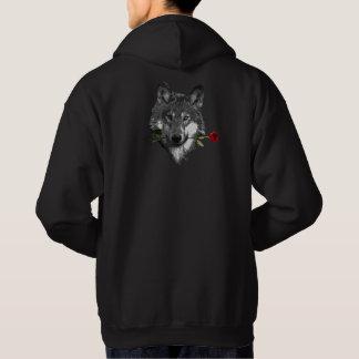 Wolf Rose Hoodie