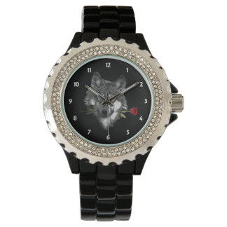 Wolf Rose Watch