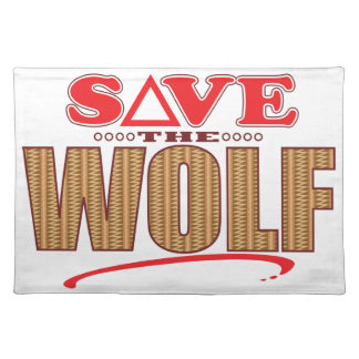 Wolf Save Placemat