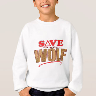 Wolf Save Sweatshirt