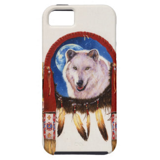 Wolf Shield Native American iPhone 5 Covers