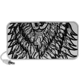 Wolf Sketch Notebook Speaker