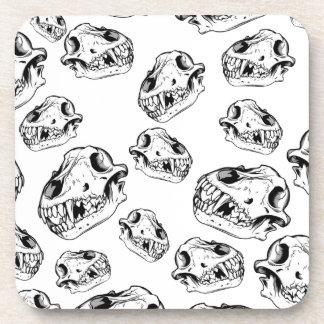 Wolf skulls coaster