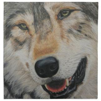 'Wolf smile' Napkin