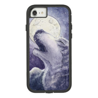 Wolf Song iPhone 7/8 Case. Orig. Watercolor Art. Case-Mate Tough Extreme iPhone 8/7 Case