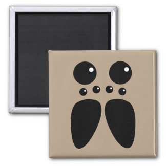 Wolf Spider Face Magnet