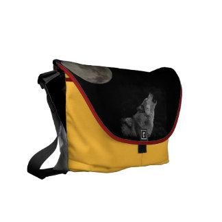 wolf spirit mama courier bag