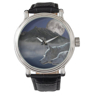 Wolf Spirit Wrist Watch