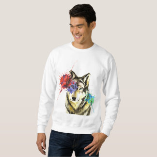 Wolf Splatter Sweatshirt