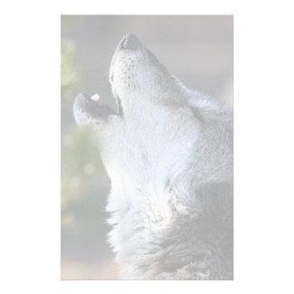 wolf stationery