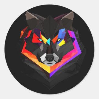 Wolf stickers