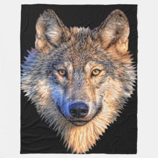 Wolf Style Fleece Blanket