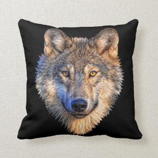 Wolf Style Throw Pillows