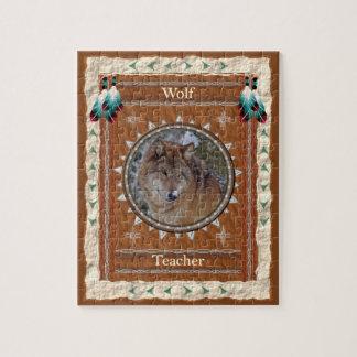 Wolf  -Teacher- Jigsaw Puzzle w/ Box