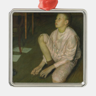 Wolf, the Son of the Artist, 1900 Christmas Ornament
