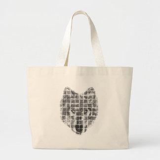 Wolf Jumbo Tote Bag