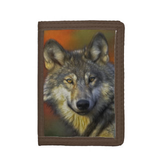 Wolf Wisdom Tri-fold Wallets