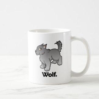 Wolf. Wolf Basic White Mug