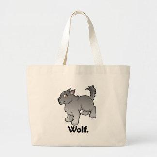 Wolf. Wolf Canvas Bag