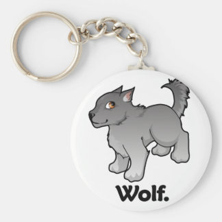 Wolf. Wolf Key Chain