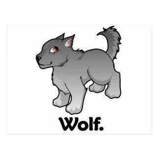 Wolf. Wolf Postcard